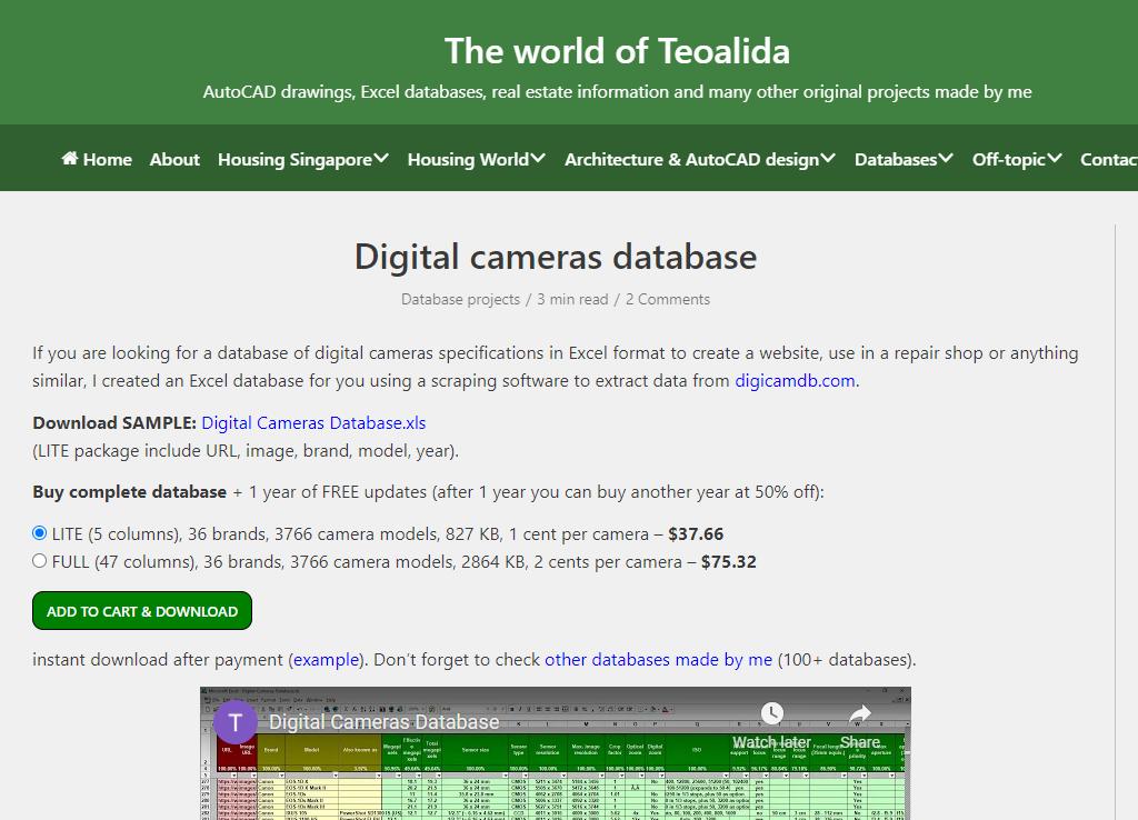 teoalida-digital-camera-database.PNG