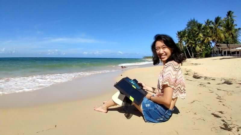 邊工作邊旅行,想要就有可能—遠端工作旅行家Mei