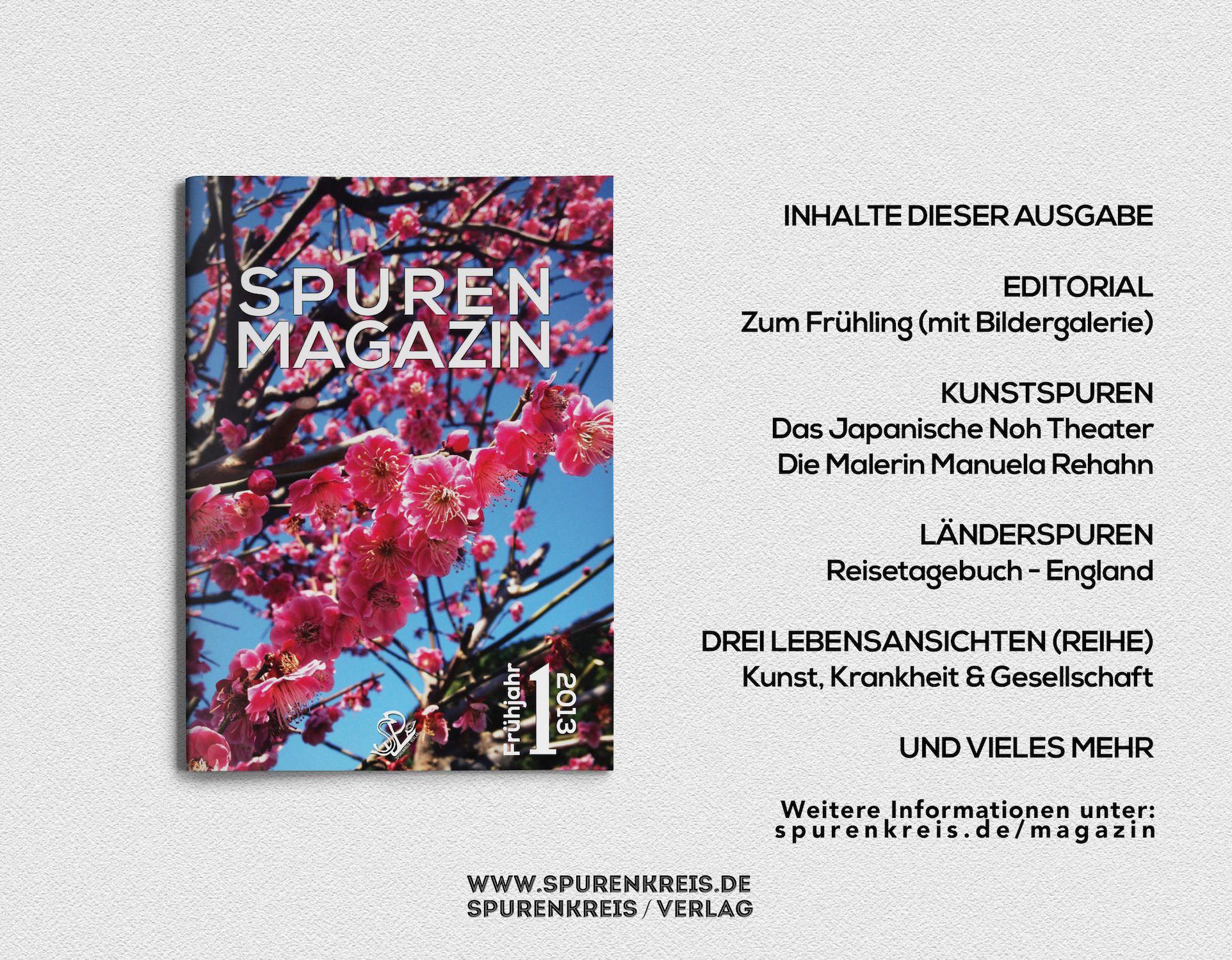 Spurenmagazin - Frühjahr 2013