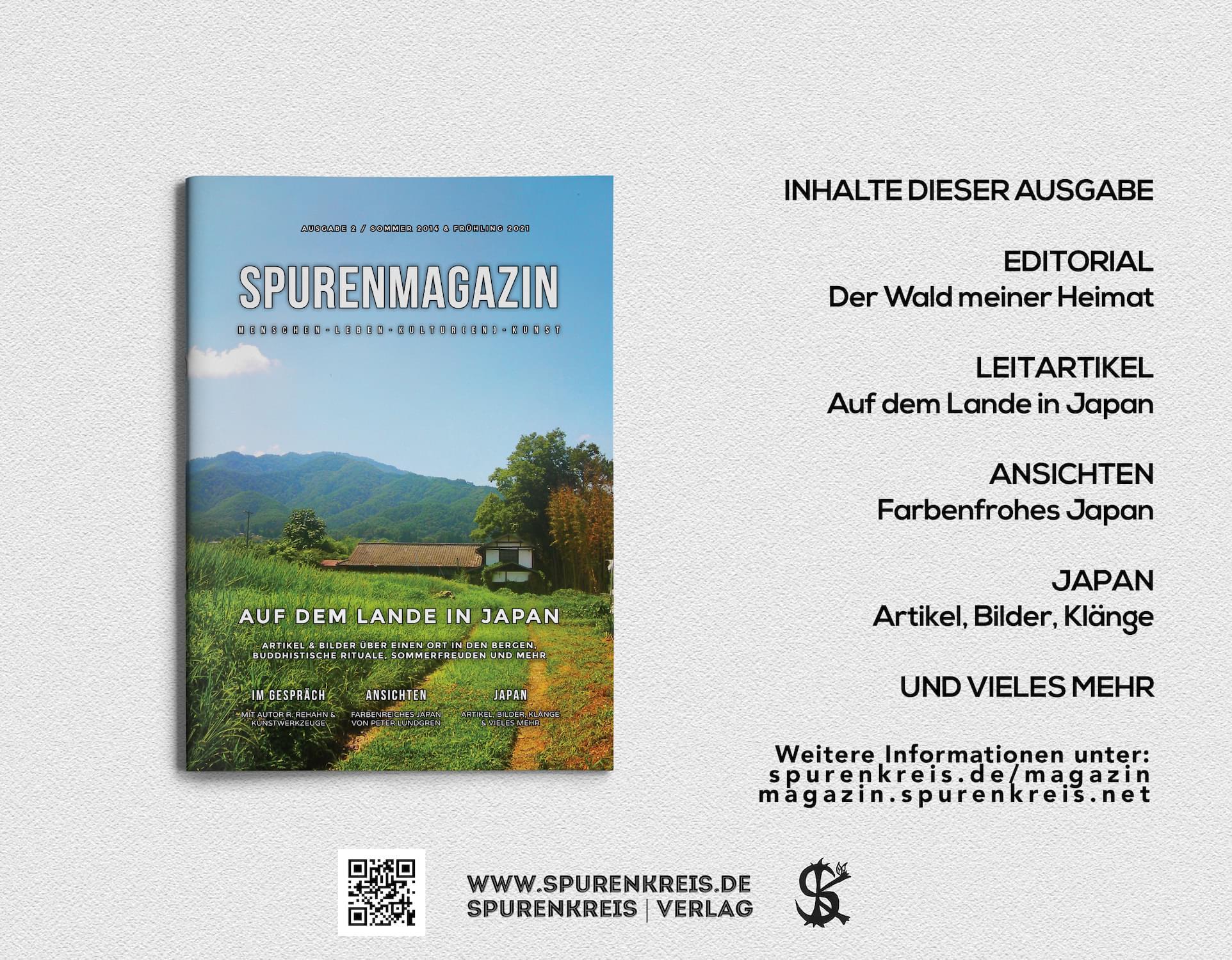 Spurenmagazin - Sommer 2014