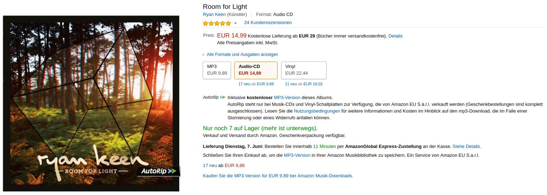 Amazon CD