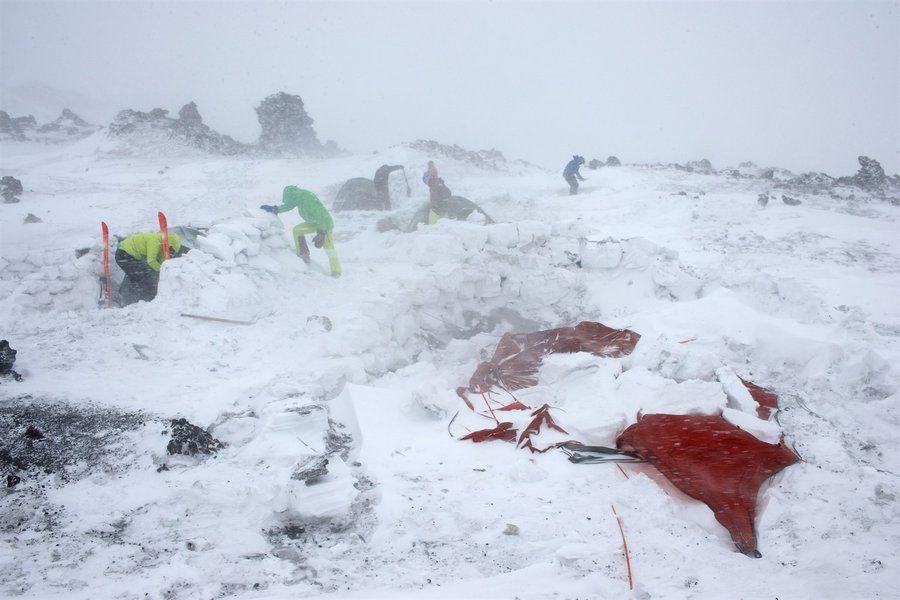 Surviving Blizzards in Kamchatka