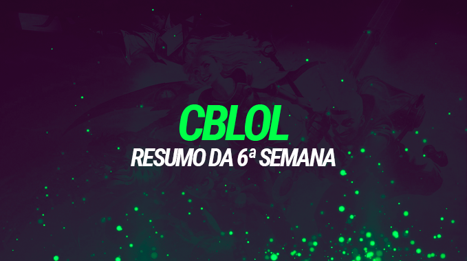 CBLOL: 6ª Semana - Após tantas fusões, Vorax embala 2-0 contra os dois favoritos e encosta na liderança