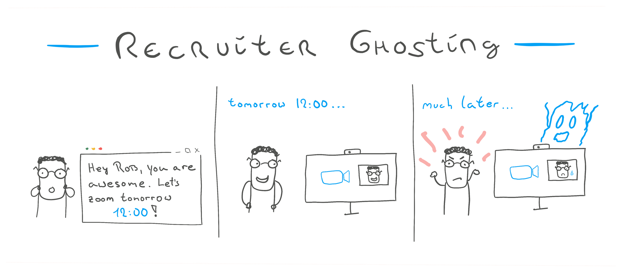 How to deal with recruiter ghosting as a developer