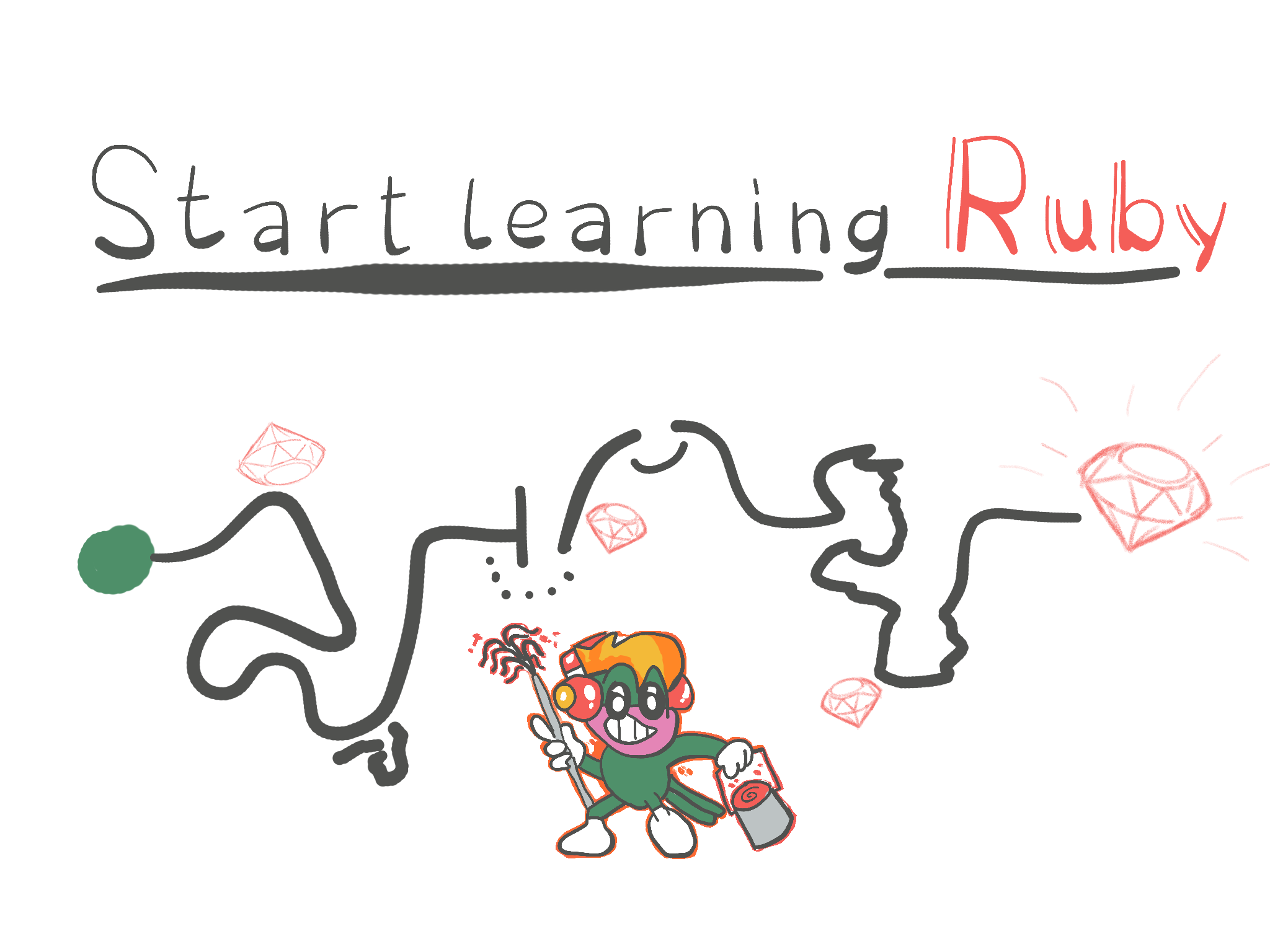 How to start learning Ruby? (timeless resources and techniques)