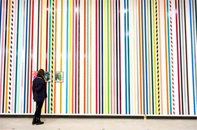 Martin Creed at Hayward Gallery, London. Photo by Linda Nylind. 26/1/2014.