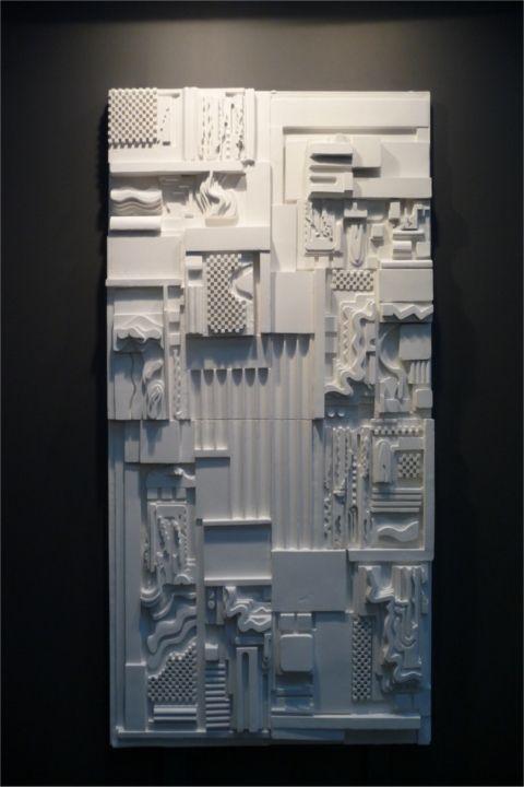 1. Eduardo Paolozzi_White Plaster Relief