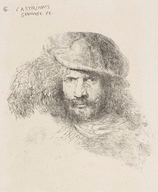 Castiliogne self-portrait