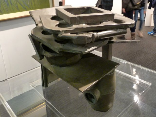 LAR_15. Sir Anthony Caro_Basket Table Bronze