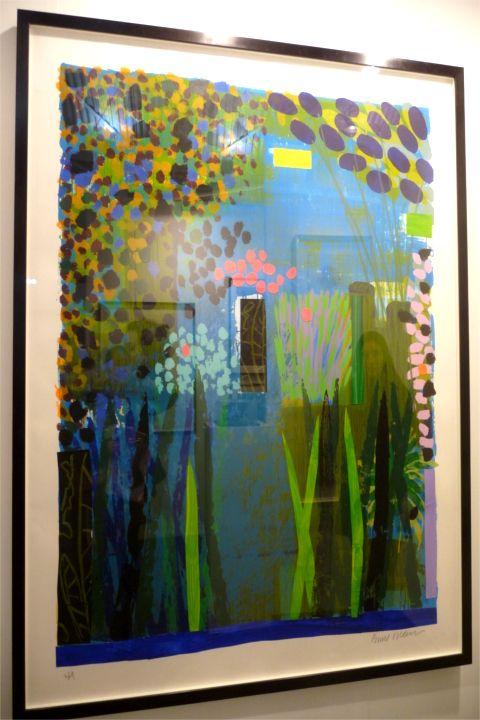 LAR_17. Bruce Mclean_Garden-Blue