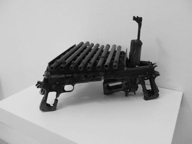 Pedro Reyes_Disarm_Xylophone