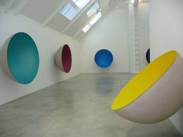 Anish Kapoor. Various sculptures