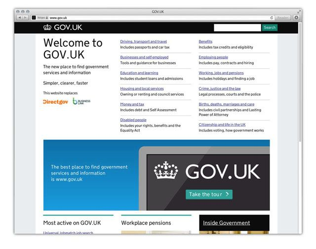 gov uk website