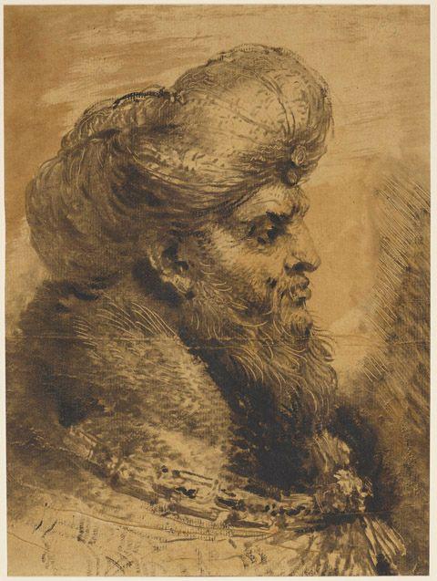 head of an oriental