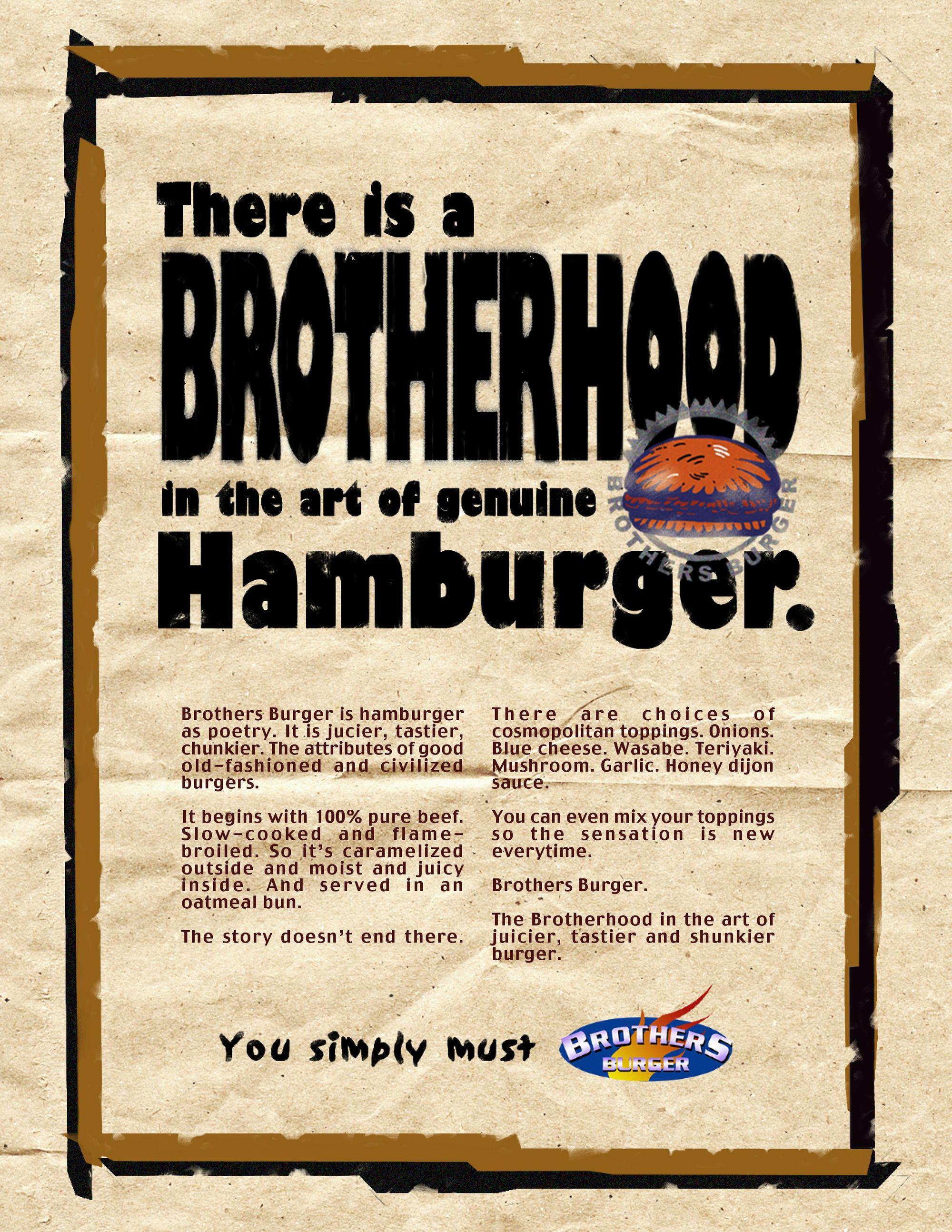 there is brotherhood