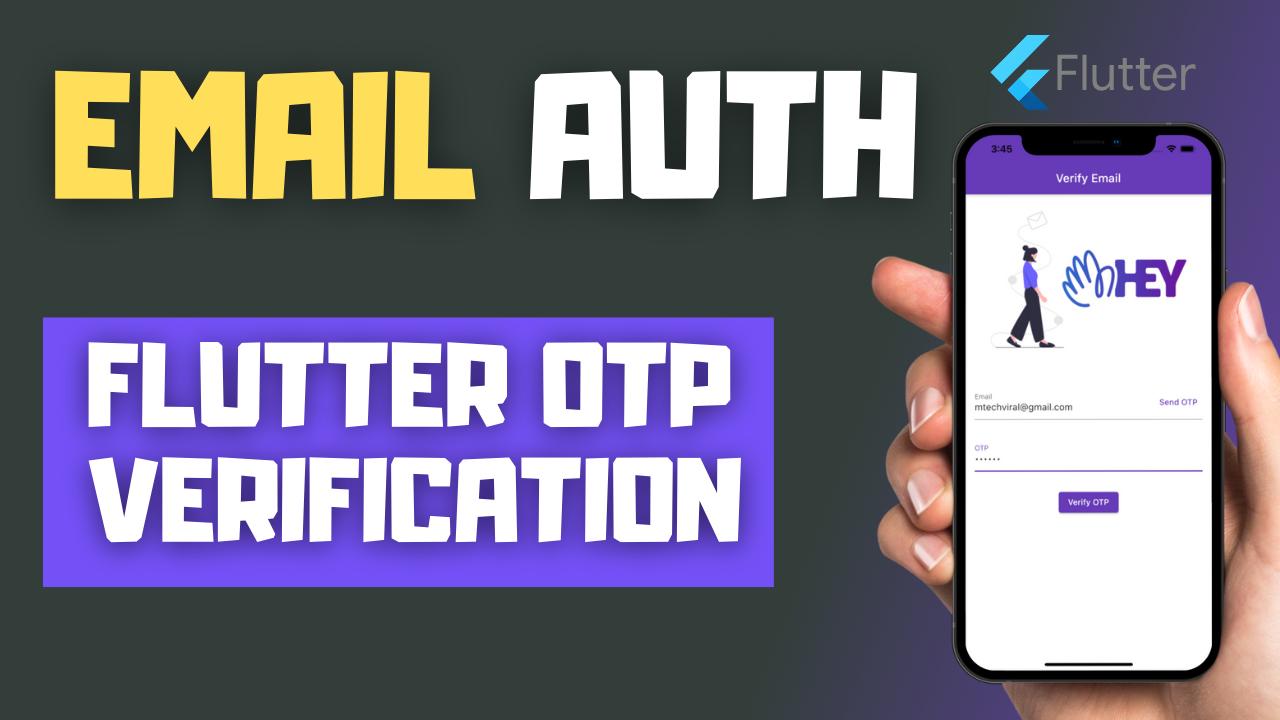 Flutter Email OTP Verification